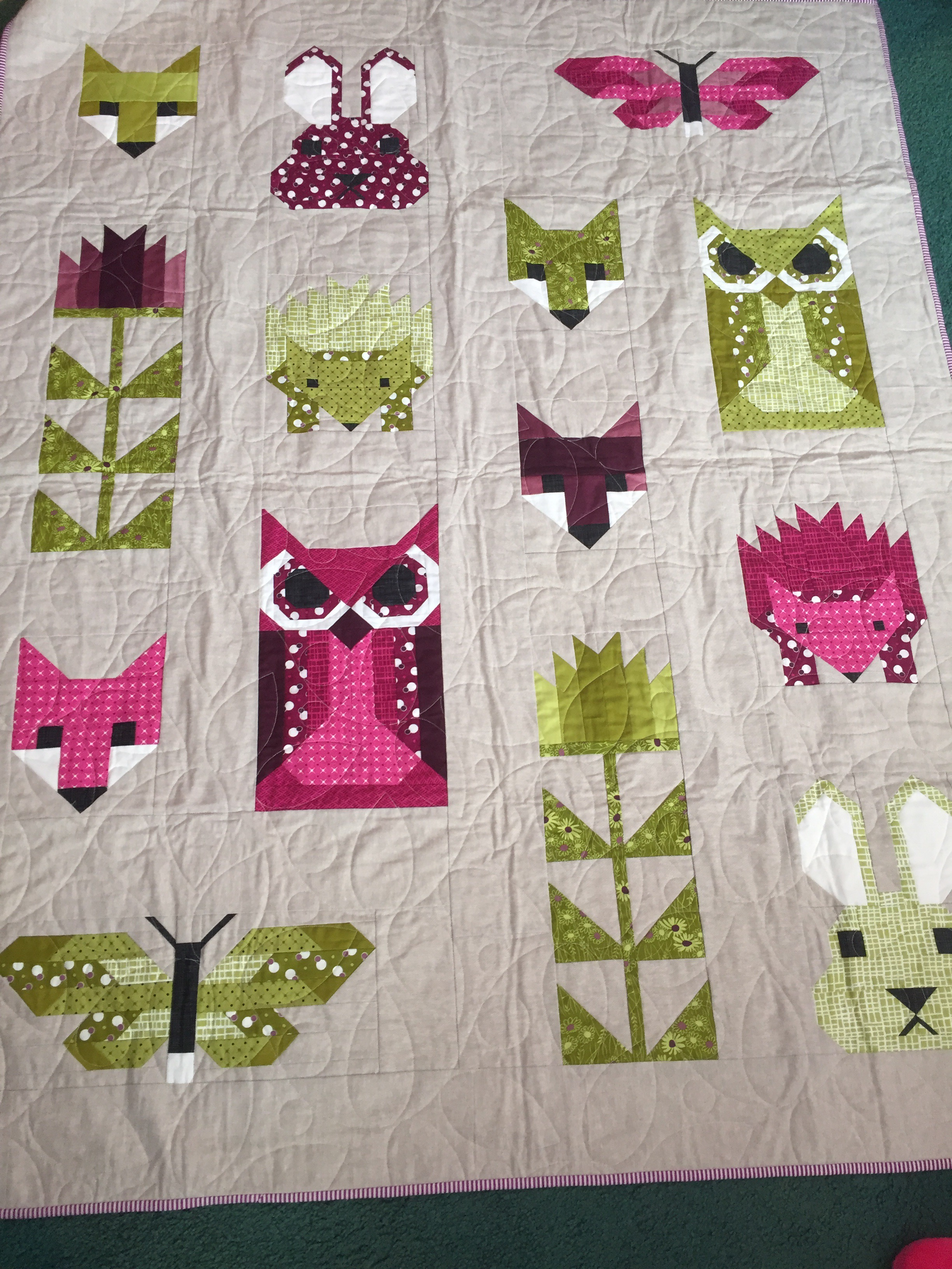 Fancy Forest Finished! – Kathryn Jones Quilts : quilts quilts quilts - Adamdwight.com